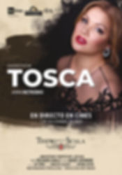 Tosca - Teatro alla Scala poster Spanish