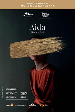 Aida - Opéra de Paris Poster LIVE (Españ