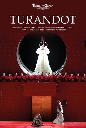 Turandot - Teatro alla Scala Poster Span