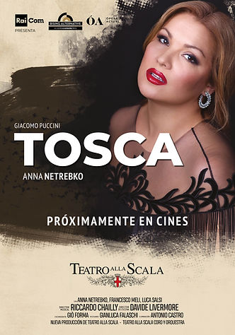 Tosca - Teatro alla Scala poster Recorde