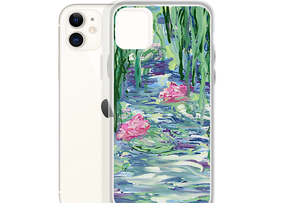 """""""Water Lily"""" 00.1 iPhone Case"""