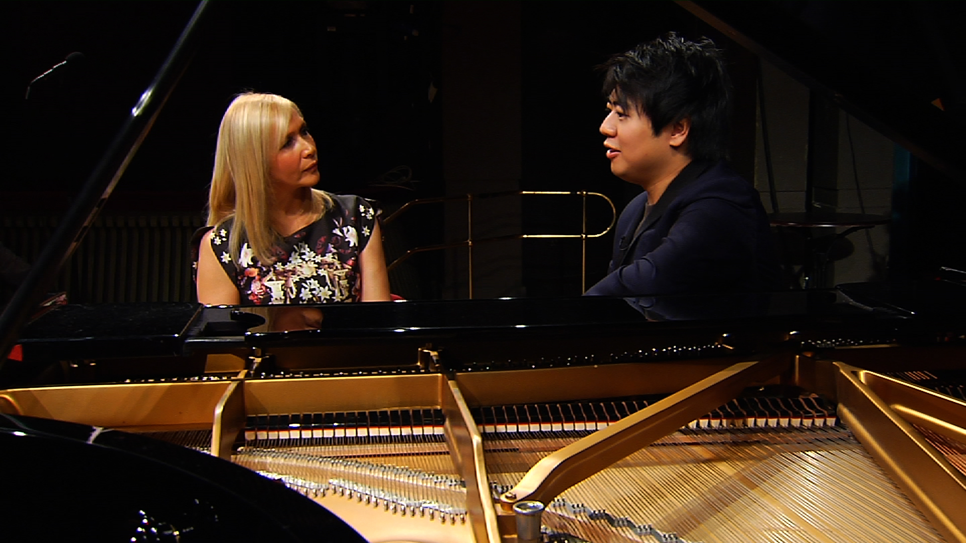 Lang Lang & Tania 2 shot