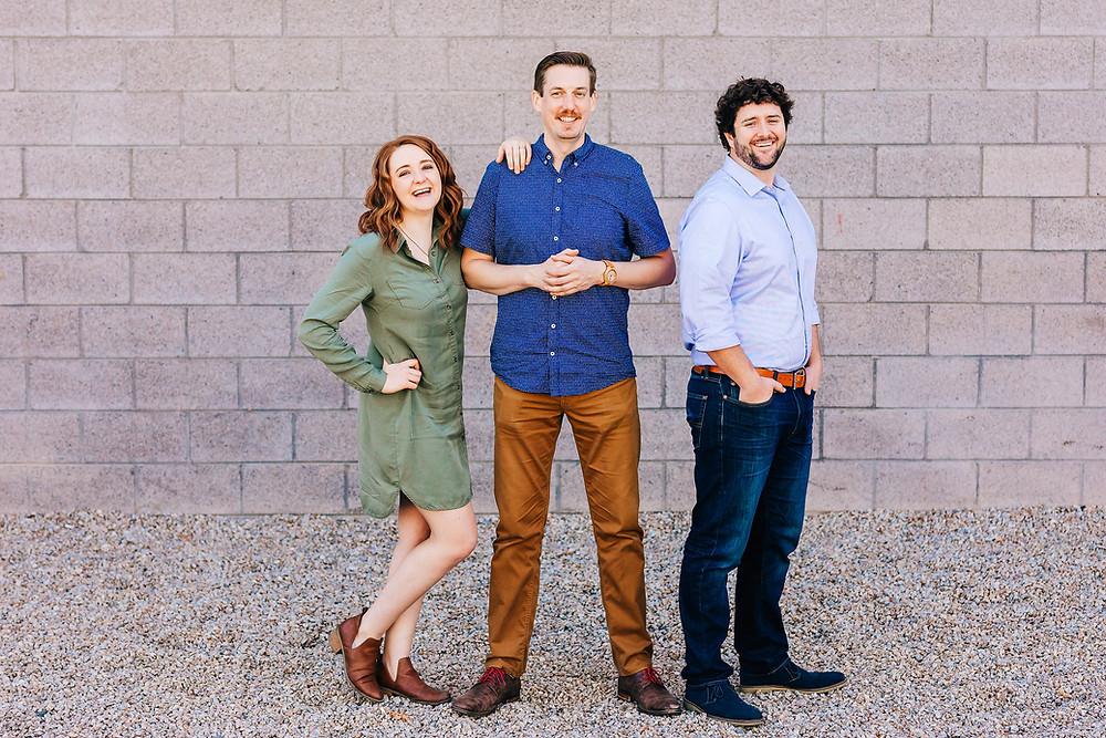 Kaylee Nedley, Matt Farrow & Brian Speer