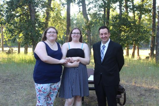 Impromptu Wedding at the Park