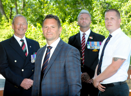 Military veterans get second chance to serve Queen and country with SSGC