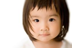 Photo of an adorable toddler.