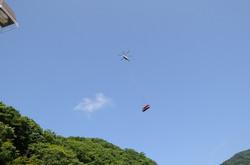 空飛ぶ「たんざわ号」