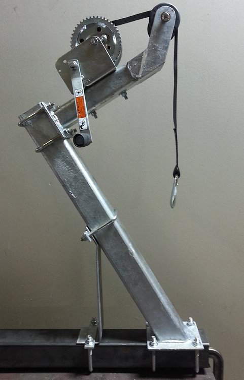 Tall Heavy Capacity Winch Stand w/1400 Lbs Winch