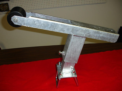 Heavy Duty Angled Boat Trailer Winch Stand (Galvanized)