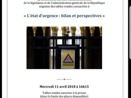 Bilan de l'Etat d'Urgence : Christophe Euzet organise un colloque à l'Assemblée Nationale