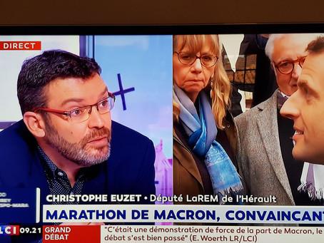 [TV] Christophe Euzet sur LCI - L'Heure de Bachelot (16/01/2019)