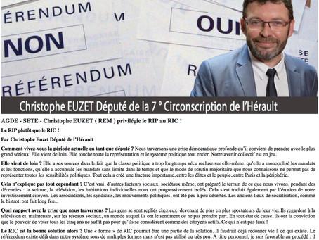 [Tribune] Le Référendum d'initiative partagée (RIP) plutôt que le RIC !