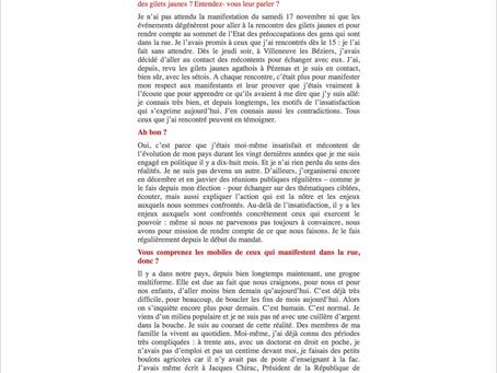 [Interview L'indécapant] Christophe Euzet : A coeur ouvert