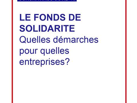 Fonds de solidarité : quelles démarches pour quelles entreprises