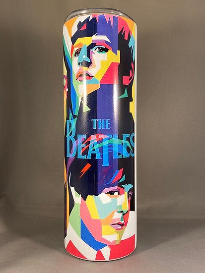 The Beatles pop art 30oz. Tumbler