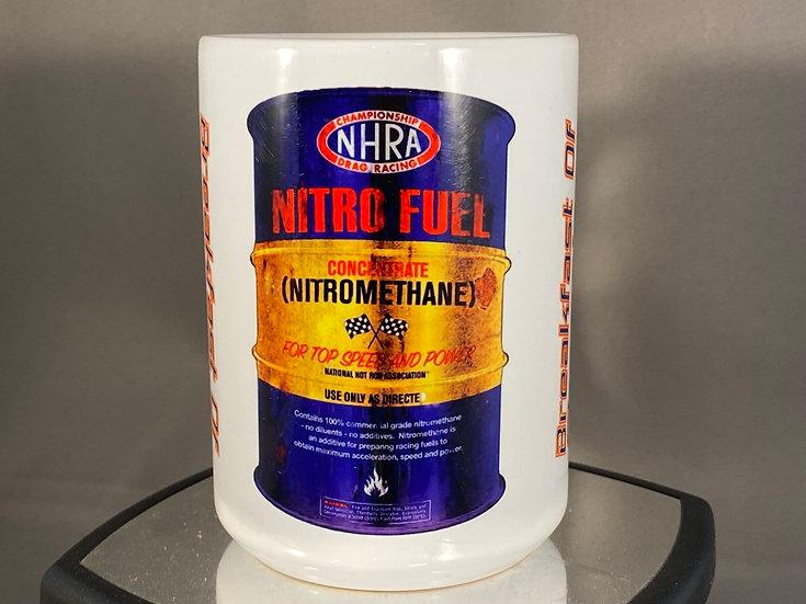 Nitro Fuel Barrel Breakfast Of Champions 15oz. Coffee Mug