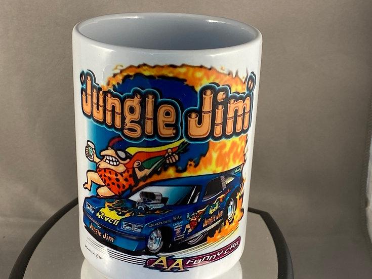 Jungle Jim Funny Car 15oz. Coffee Mug
