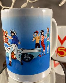 Speed Racer & Crew 15oz. Coffee Mug