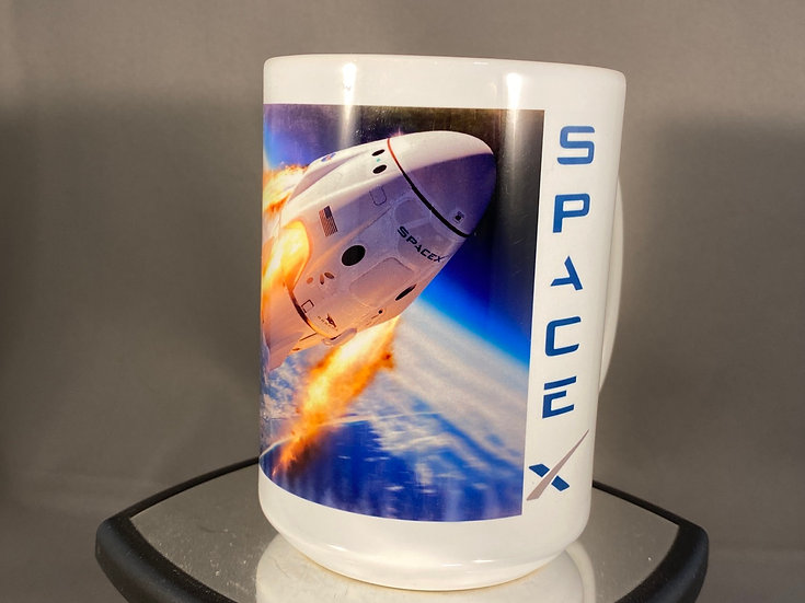 Space X 15oz. Coffee Mug