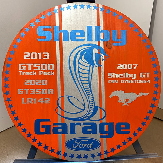 Custom Commissioned Garage Signs