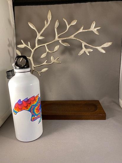 Mustang Tie Die water bottle
