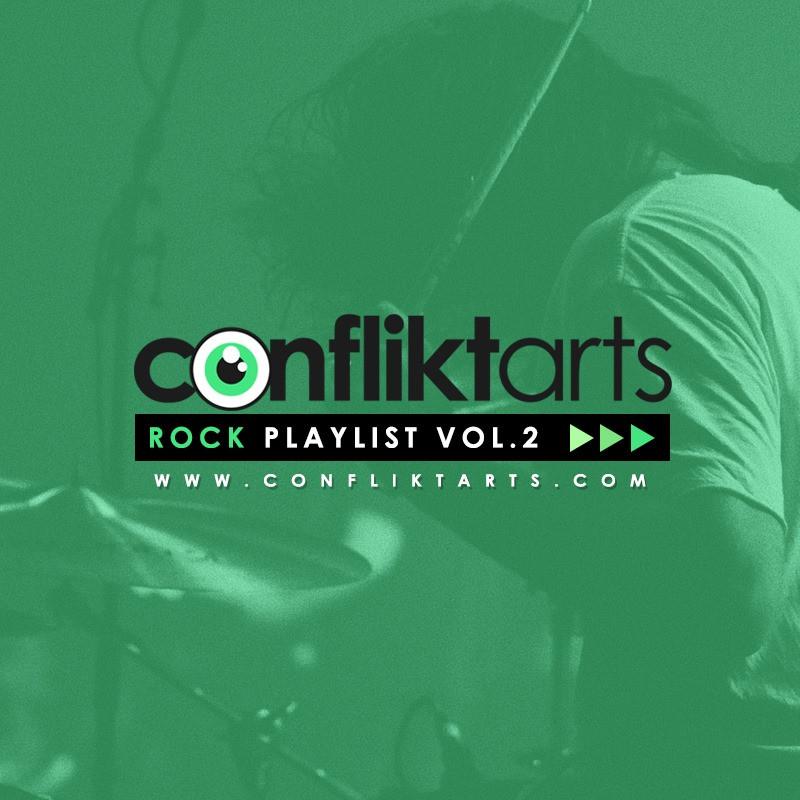 """""""Le long des quais"""" sur la playlist Rock Confliktarts Vol.2"""