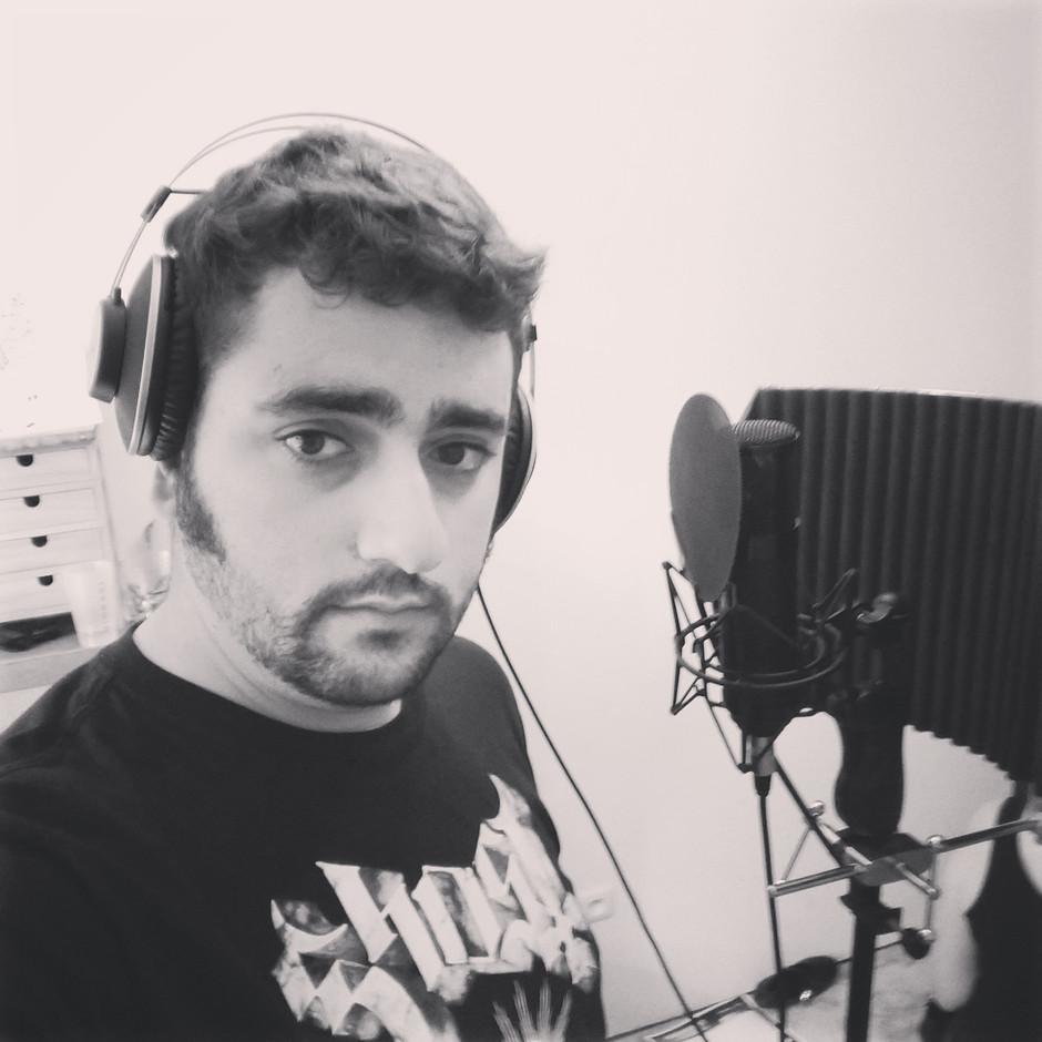 Première session d'enregistrement pour l'album terminée !