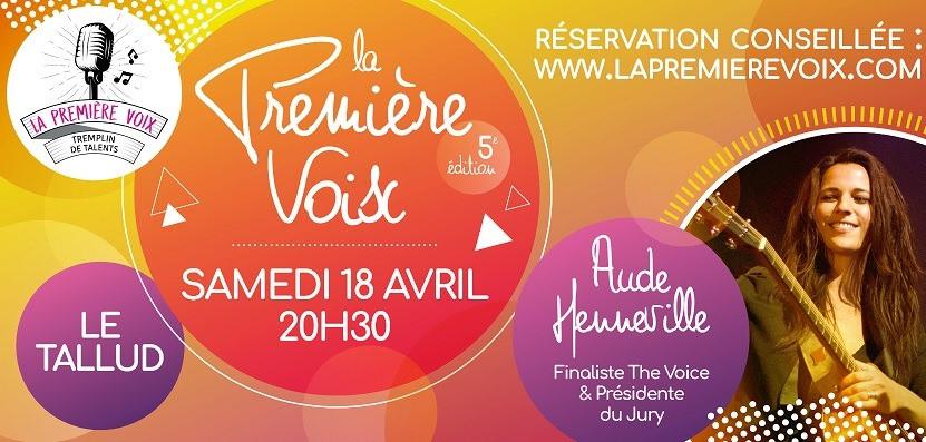 """En finale du Tremplin """"La première voix"""" Le Tallud (79) le 18/03/2020"""
