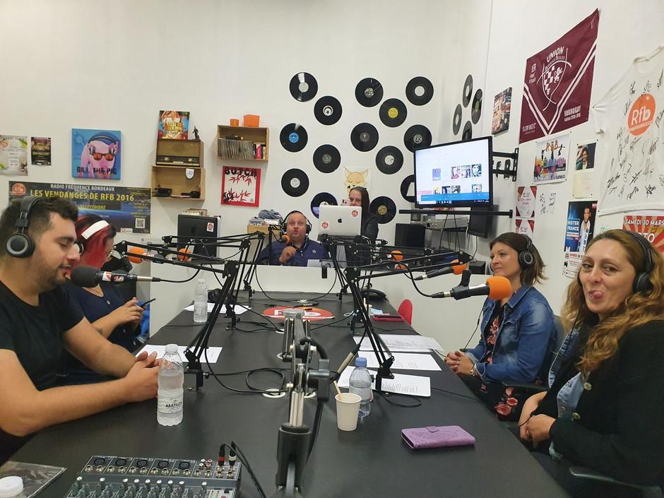 Passage sur Radio Fréquence Bordeaux !