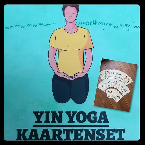 Yin Yoga Kaartenset
