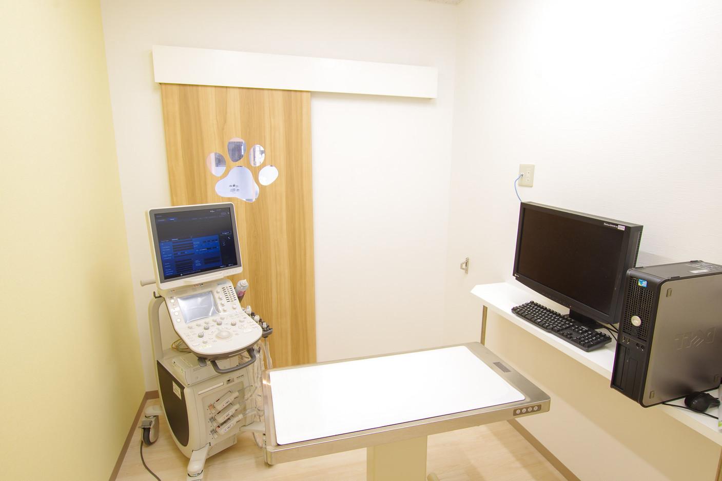 わんちゃんの診察室