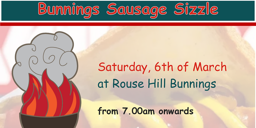 Sausage Sizzle - Fundraising Event - Mar 2021