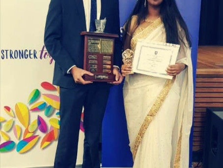 BSS Students awarded in SLA YOUNG ACHIEVERS AWARDS 2021