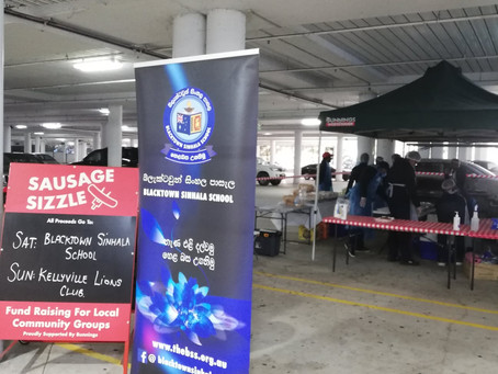 Second BSS Sausage Sizzle at Bunnings