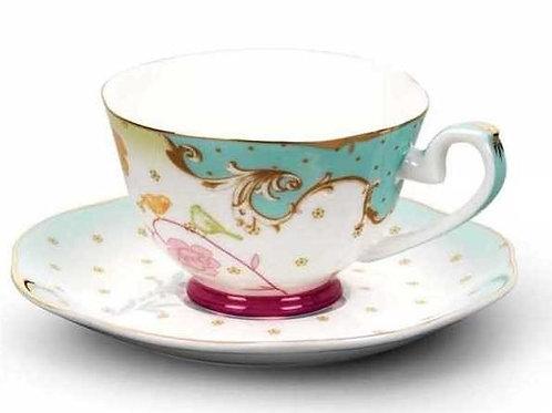 Korkmaz Flora Mokka / Espresso Tassen Set