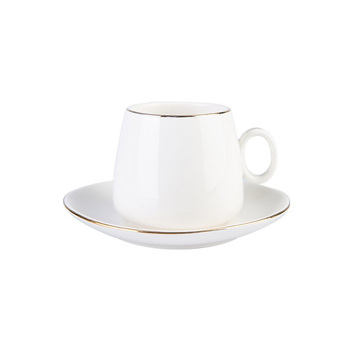 Karaca Lilac Nescafé/Tee Tassenset für 2 Personen