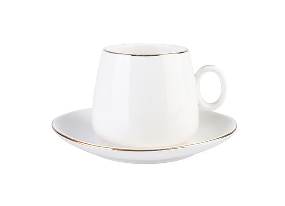 Karaca Leylak Nescafe / 2 kişilik çay fincanı seti