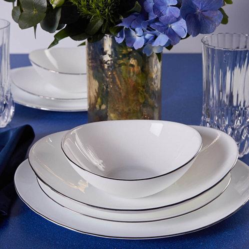 Karaca Pure Opal Glas Tafelservice - 24tlg
