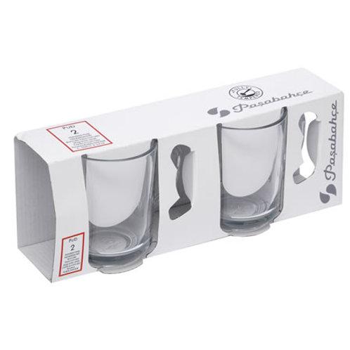 Pasabahce Henkel Teeglas - 6er Set