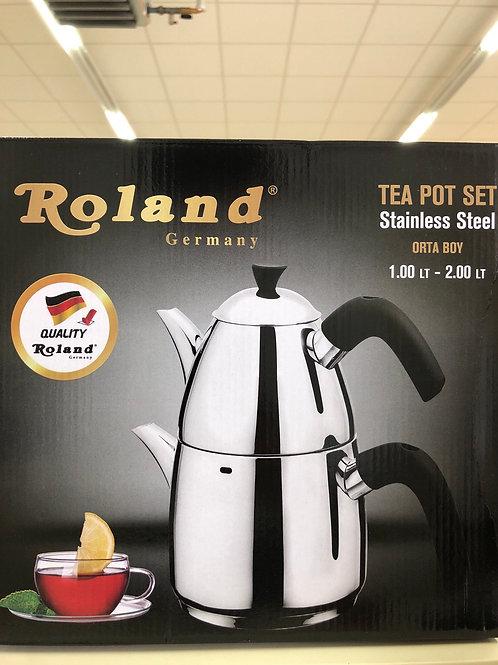 Roland Teekanne 1 Liter + 2 Liter