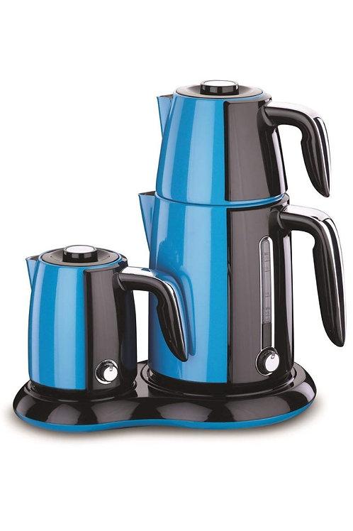 Korkmaz Caykahve Maker - blau