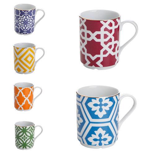 Porland Marocco Mugs - 6er Set