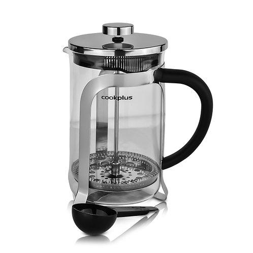 Cookplus Kaffebohne Metall Stempelkanne 800 Ml