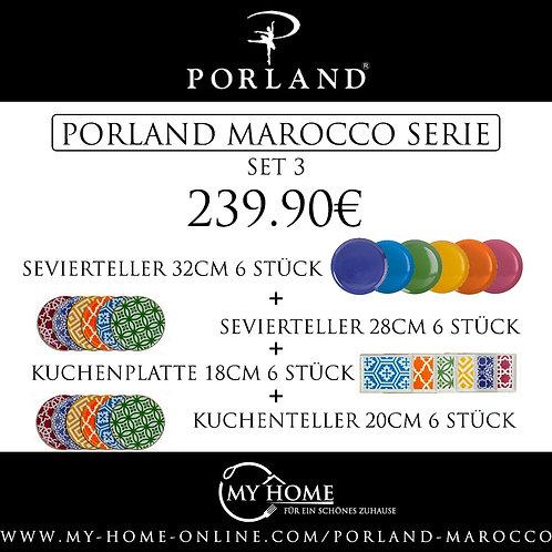 Porland Marocco Set 3 - 24 tlg