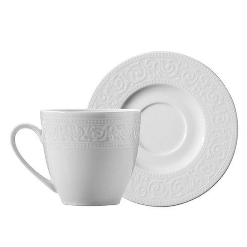 Kütahya Porselen Acelya Tassen - 6 Personen