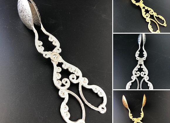 Servierzange - Gold / Silber Design