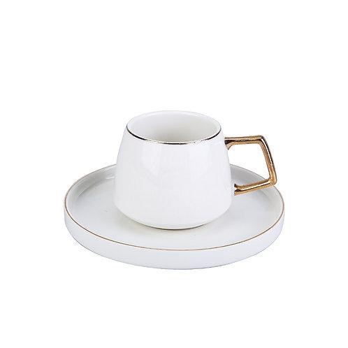 Karaca Saturn Nescafé/Tee Tassenset für 2 Personen