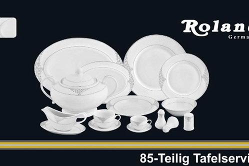 Roland Tafelservice- 85 tlg - 12 Personen
