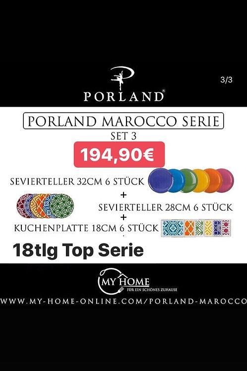 Porland Marocco - 18tlg Set