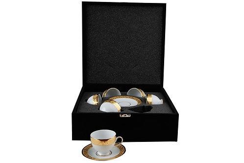 Porland Ottomann Kaffee Set - 12tlg mit Koffer